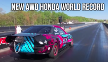 Watch This 1,500-HP Honda Civic Go From 0 To 60 MPH In A Crazy 1.1 Seconds
