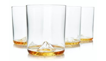 What's At The Bottom Of Your Whiskey Glass? A Whole Dang Mountain