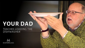 Spot-On Parody Of MasterClass Ads Has Your Dad Teaching How To Load The Dishwasher Masterfully