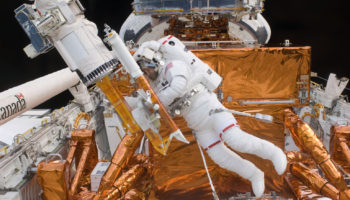 What It's Like Leaving Planet Earth To Go On A Spacewalk