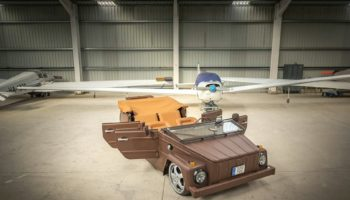 You Haven't Seen A Thing Like This Leather-Wrapped VW Thing