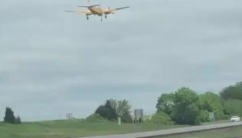 Airplane Makes Emergency Landing On Missouri Highway To The Shock Of Motorists