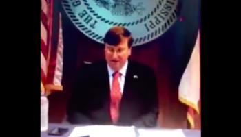 Watch The Mississippi Governor Get Pranked Into Saying An, Uh, Questionable Name During A Graduation Ceremony