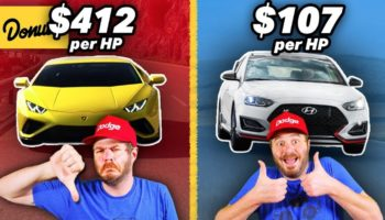 This YouTuber Found The Cars With The Most Horsepower Per Dollar