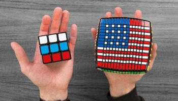 Rubik's Cube Whiz Recreates Over 50 National Flags On Rubik's Cubes