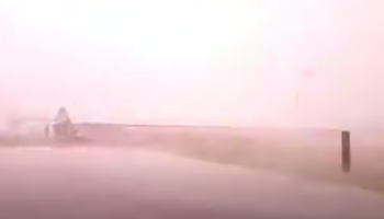 SUV Caught In Thunderstorm Gets Fried By Lightning Bolt
