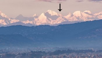 Mount Everest Is Visible From Kathmandu, Nepal For First Time In Living Memory