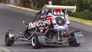 Watch A Uniquely Engineered Crosskart With 160 Horsepower Shoot Its Way Uphill At A Breakneck Pace