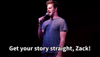 Comedian Roasts Audience Member For His Name 'Zack,' Has A Hilarious 'Oh Sh*t' Moment When He Realizes He Roasted Zack Snyder