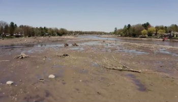 Watch An Entire Lake Disappear After Record Flooding Causes Michigan Dam To Fail