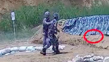 Rookie Soldier Is Saved In The Nick Of Time When He Hurls Grenade Way Too Close