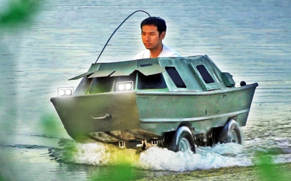 Someone Built An Amphibious Go-Kart Boat And It Looks Pretty Badass - Digg