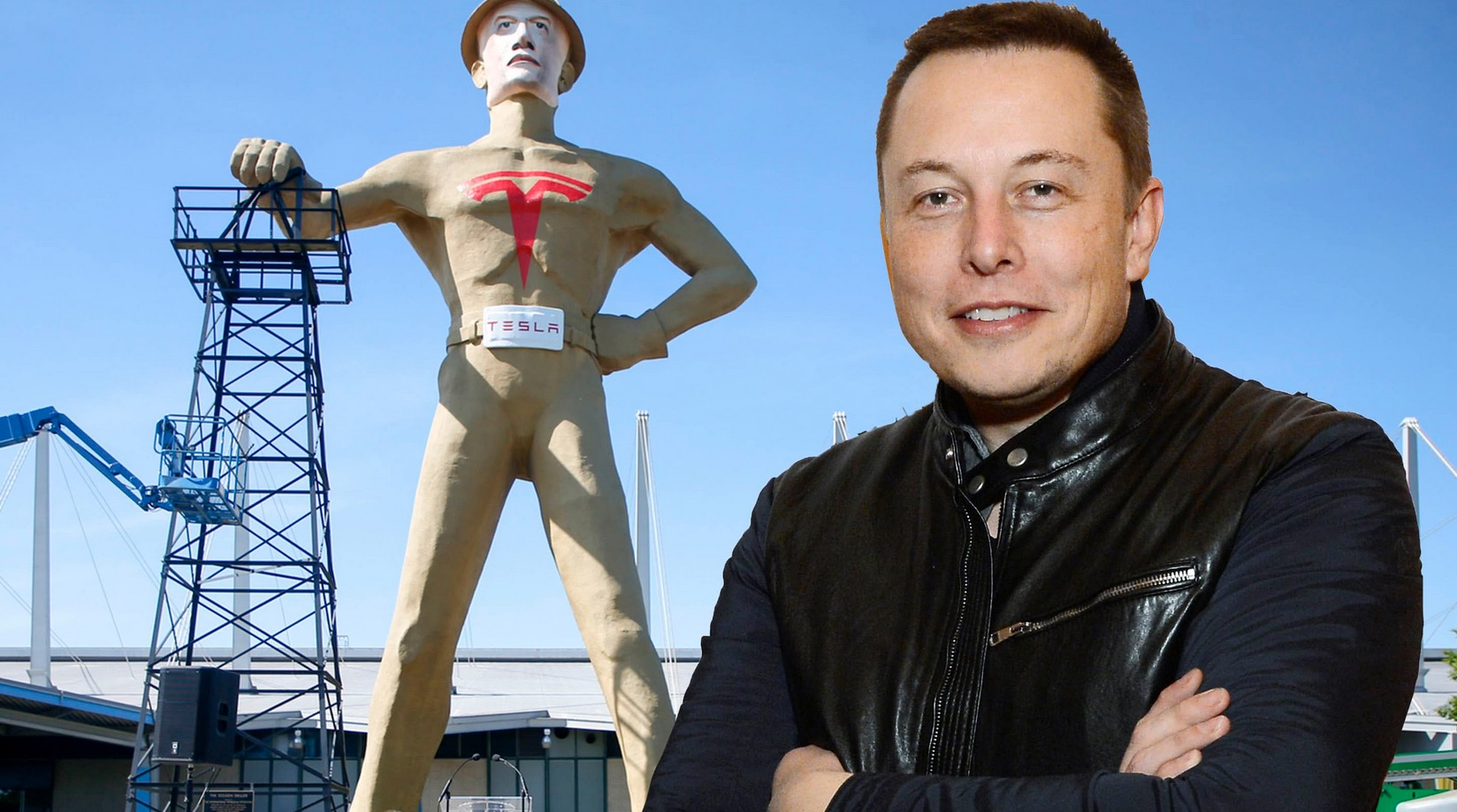 This Giant Monument To Elon Musk Has Tulsa Residents Furious