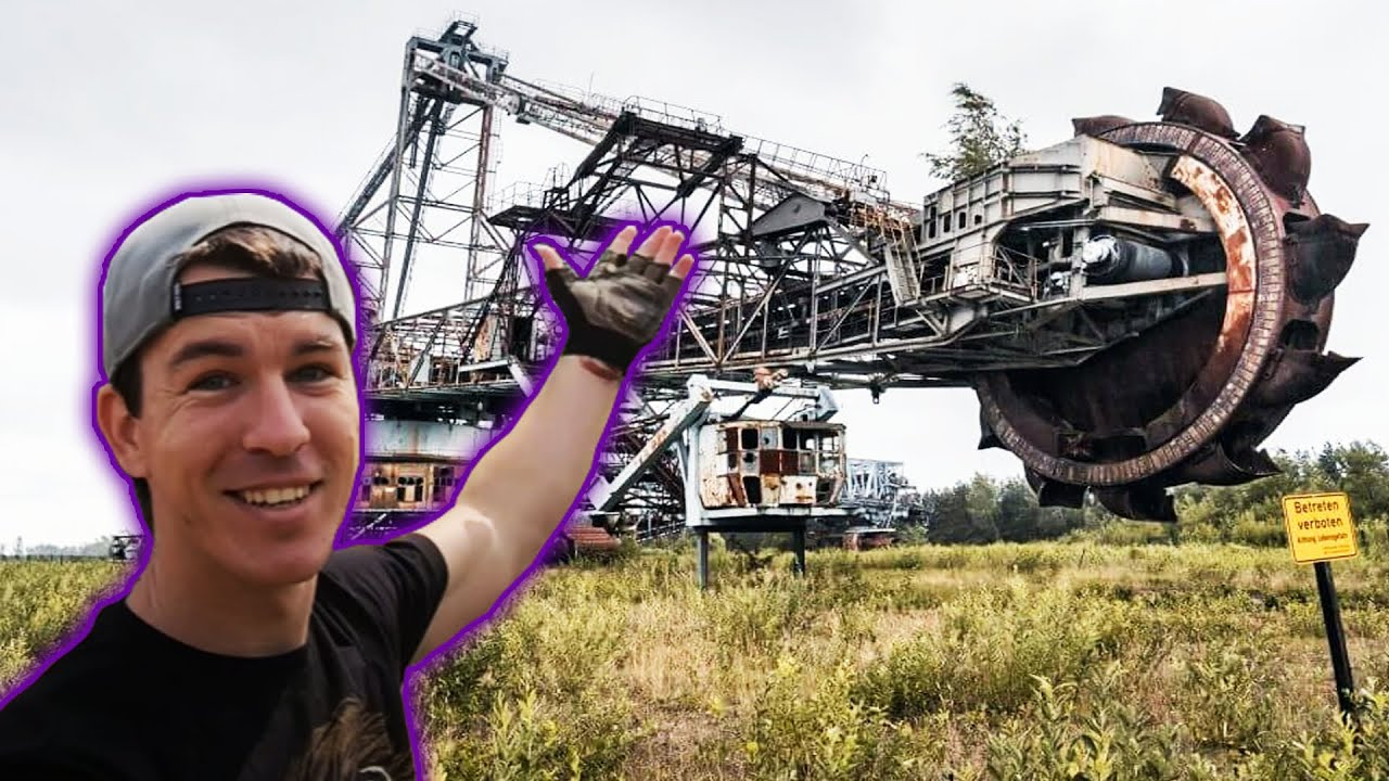 The World's Largest Abandoned Excavator Is Left To Rust In A German Mining Field - Digg