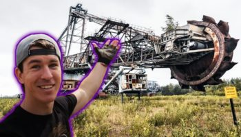 The World's Largest Abandoned Excavator Is Left To Rust In A German Mining Field