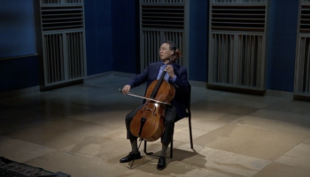 Watch Award Winning Cellist Yo-Yo Ma Perform Bach Live