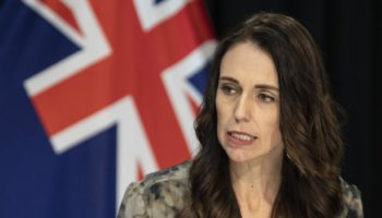 New Zealand PM Jacinda Ardern Shaken By Earthquake During TV Interview