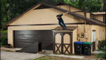 Watch Skateboarders Pull Off Insane Tricks In A Backyard Transformed Into A Skatepark