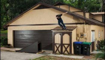 Watch Skateboarders Pull Off Insane Tricks In A Backyard Transformed Into A Skatepark