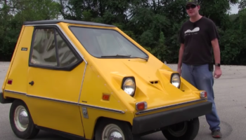 This 1970s Cheese Car Is Maybe The Weirdest Car We've Ever Seen