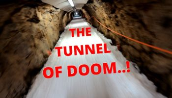 Watch A Man Snowboard Through Le Tunnel, One Of The World's Most Infamous Ski Runs