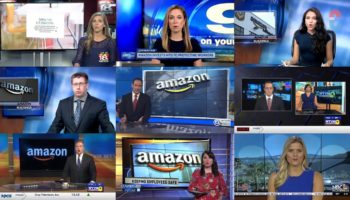 Watch 11 TV Stations Air The Same Amazon-Produced 'News' Segment That Claims Amazon Is Keeping Its Employees Safe