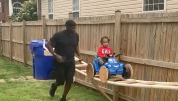 This Little Boy Riding A Homemade Backyard Roller Coaster His Grandfather Built Is The Sweetest Thing You'll Watch Today