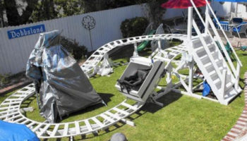 How To Build A Backyard Roller Coaster — Like These Pros Did
