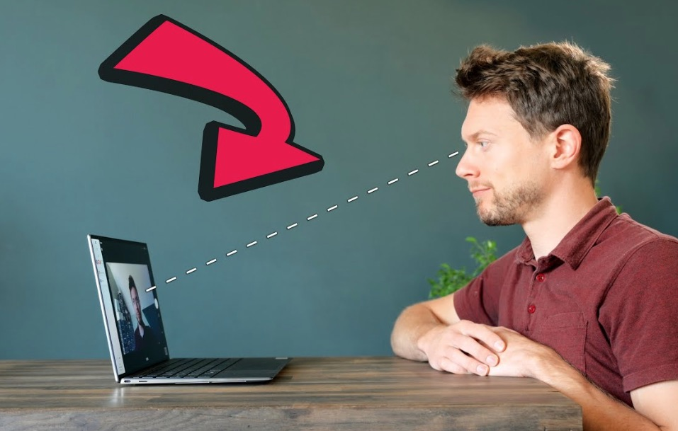 How To Cheaply Build A Video Call System That Allows Eye-To-Eye Conversation