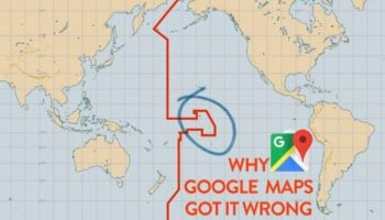 How Google Messed Up The International Date Line On Their Maps