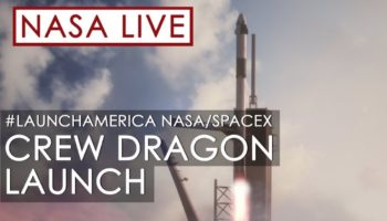 Watch NASA And SpaceX Launch Astronauts Into Space On The Dragon Spacecraft