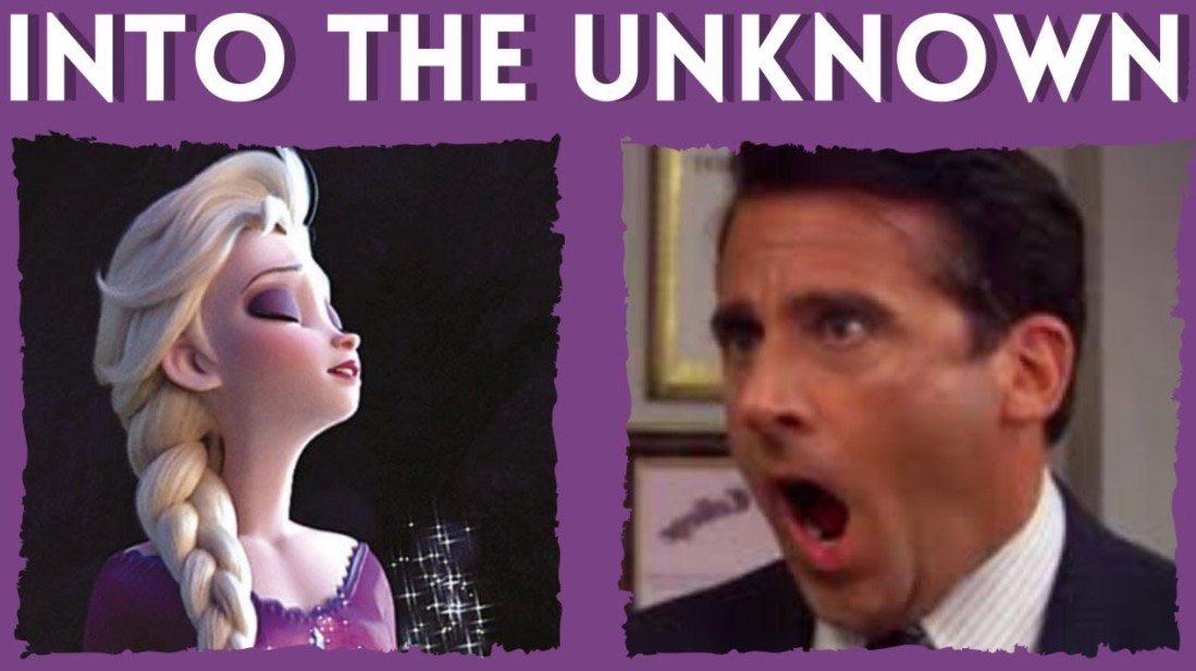 Someone Inserted Michael Scott Into 'Frozen 2' To Sing The High Notes From 'Into The Unknown'