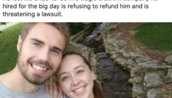 Wedding Videographer Denies Refund And Mocks Man Whose Fiancee Died