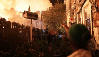 Looting And Flames Erupt In Minneapolis Amid Growing Protests Over George Floyd's Death