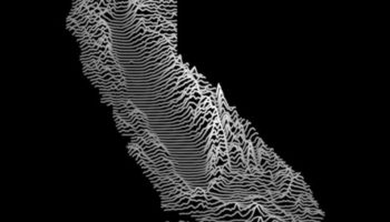 Every State's Topography, Mapped Joy Division-Style