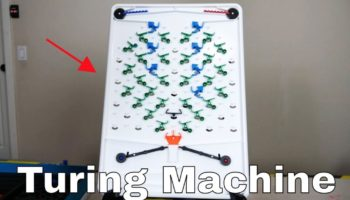 Here's A Low-Tech Demonstration Of How A Computer Works Using Marbles And Switches