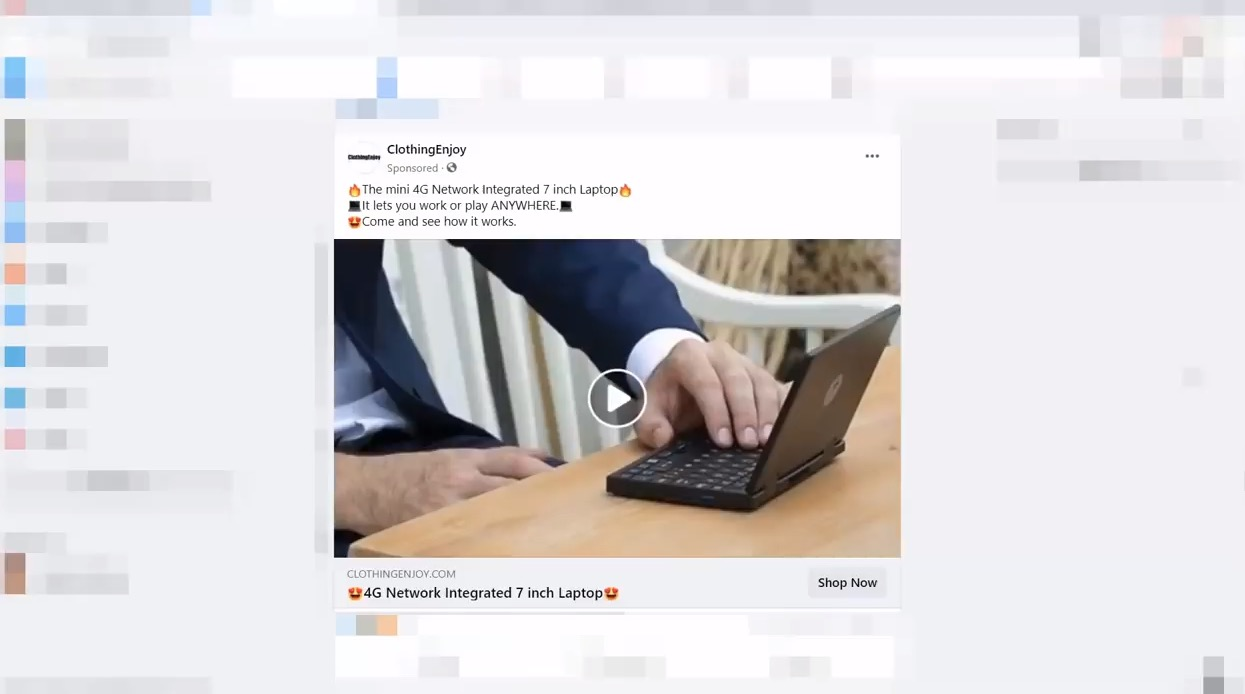 What Happens If You Order A $29 Laptop From This Scammy-Looking Facebook Ad?
