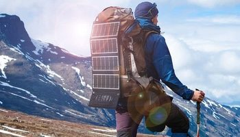 The RAVPower 24 Watt Three-Port Solar Charger Is The Ultimate Hiking Charger