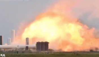 SpaceX's Starship Prototype Explodes In Huge Fireball During Testing