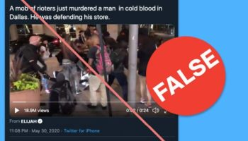 We're Keeping A Running List Of Hoaxes And Misleading Posts About The Nationwide Police Brutality Protests