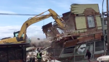 This Is Why You Really Should Block Off A Building Demolition