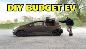 Guy Rebuilds A Car Into An Electric Vehicle Using Only $2,000