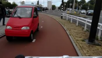 How Microcars Took Over Amsterdam's Trafficscape