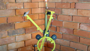 Here's A Hilarious Invention That Repeatedly Lights And Extinguishes A Candle