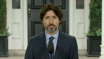 Justin Trudeau Pauses For An Excruciatingly Long Time After Being Asked About Donald Trump's Response To Protests