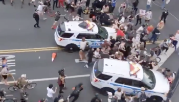 People Can't Stop Watching Videos Of Police And Protesters. That's The Idea