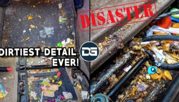Watch This Brave Man Attempt To Deep Clean The Dirtiest Minivan He's Ever Seen