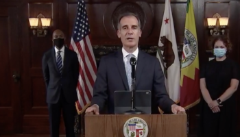 Los Angeles Mayor Garcetti Cutting $100-$150 Million From LAPD Budget, Funds To Be Reinvested In Communities Of Color
