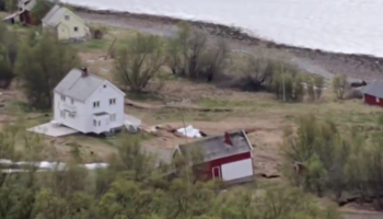 Watch A Terrifying Mudslide In Norway Drag Houses Straight Into The Ocean