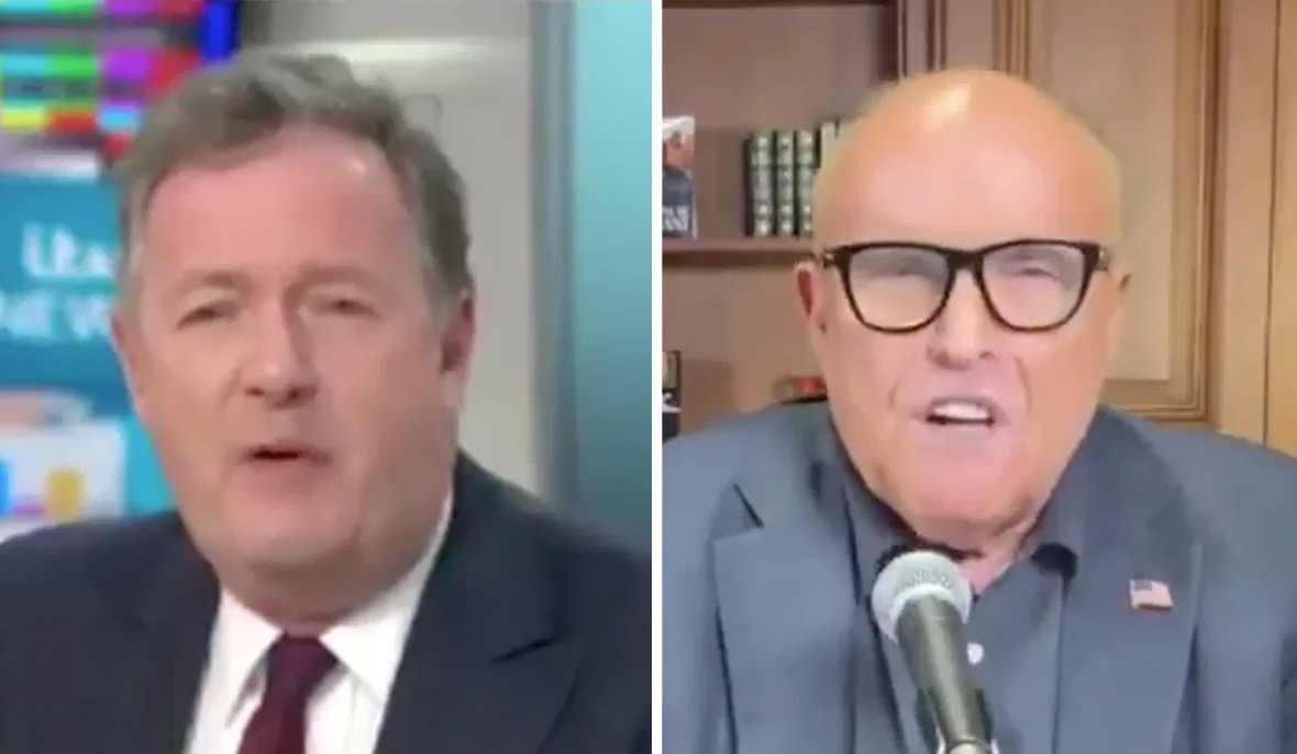 Piers Morgan Explodes At Rudy Giuliani Over Donald Trump's Response To Protests: 'You Sound Completely Barking Mad' - Digg